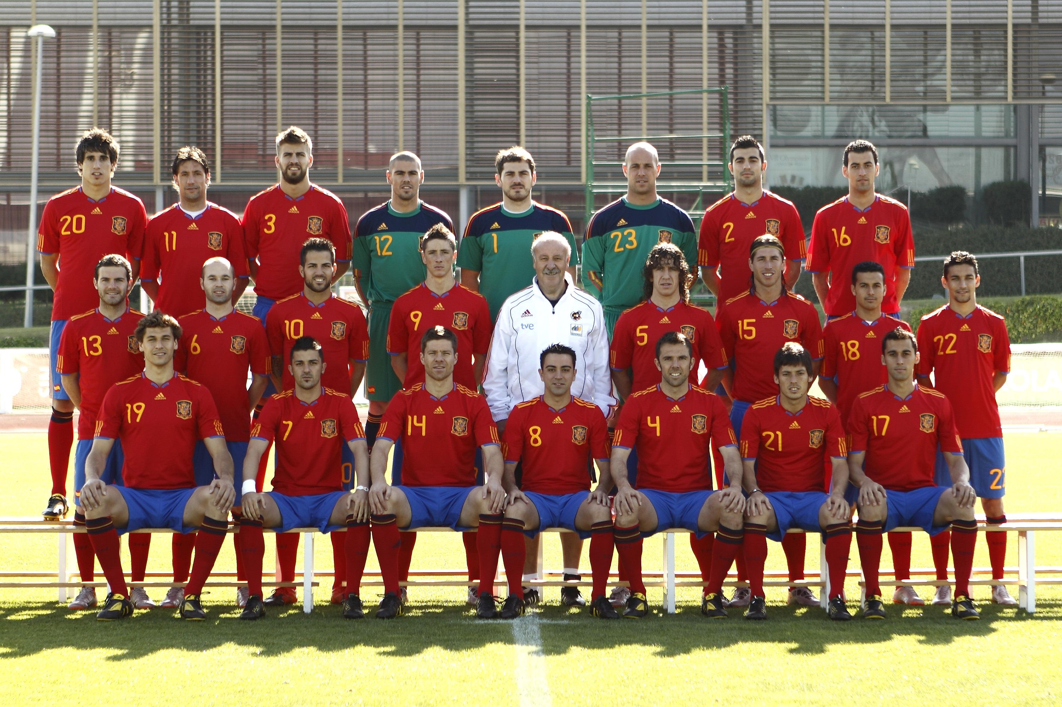 Hilo de la selección de España (selección española) Spain